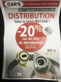 promotion sur la distribution jusqu'au 31 Octobre pensez à regarder pour la votre