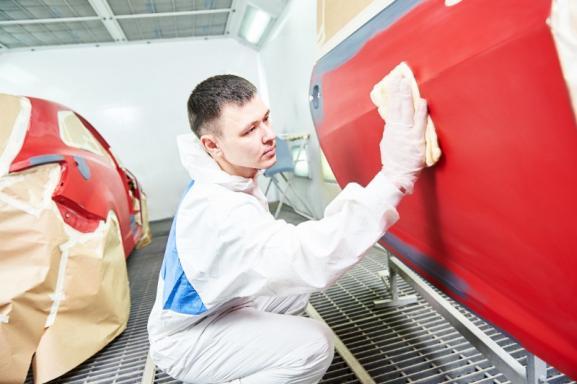 Réparation carrosserie le hom